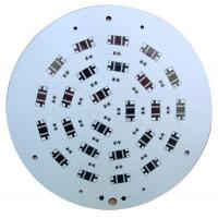 Quality 2000V - 8000V White Round Led PCB Board Single Layer Aluminum Base for sale