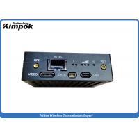 Quality Zero delay TDD COFDM transmitter Ethernet Transceiver UAV Wireless Video Link HDMI for sale
