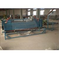 Quality Airport / Highway Chain Link Fence Machine Fully Automatic With Hanging Control Panel for sale