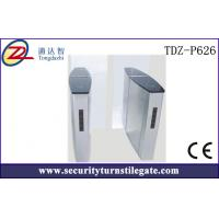 Quality OEM Optical Security Turnstiles / Intelligent stainless steel Subway Turnstile , durable for sale