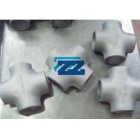 China Alloy Steel Butt Weld Pipe Fittings Butt Weld Cross Tee ASTM A234 WP11 ASME B16.9 on sale
