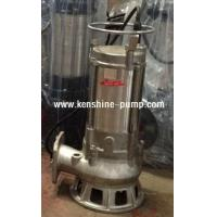 Quality S Series stainless steel submersible sewage pump for sale