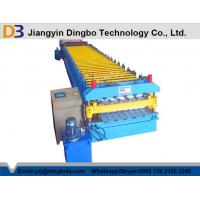 Quality Full Automatic Metal Roof Panel Roll Forming Machine With 1 Year Warranty for sale