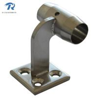 Quality stainless steel handrail fitting rail to wall HFRS002, finishing satin or mirror for sale