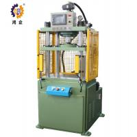 Buy cheap High Safety Green Four Column Hydraulic Press Machine For Hardware Fittings 15T from wholesalers