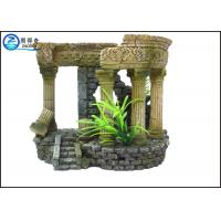 Quality Portable Aquarium Resin Ornaments Aquatic Creations Corner Columns For Home for sale