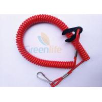 Quality Red Safety Durable Jet Ski Safety Lanyard 1.2 Meter Fit All Motor Brands for sale