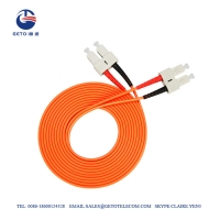 Quality SC To SC Multimode 5m 10m 15m Optic Fiber Patch Cord for sale