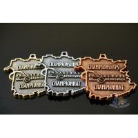 Buy cheap Basketball Swimming Bespoke Custom Award Medals Die Casting Mold Bronze Plating from wholesalers