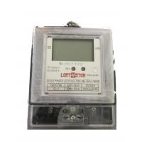 China Low Consumption Single Phase Kwh Meter 240v , Waterproof Single Phase Watt Meter on sale