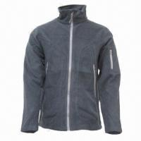 Quality Unisex Fleece Jacket with Fashionable Trend, Ideal for Outdoor and Casual Wear for sale