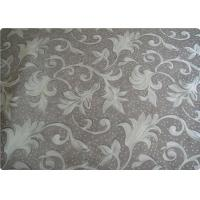 Quality Bedding / Mattress / Shoes Polyester Elastane Fabric Retro Upholstery Fabric for sale