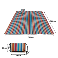 Quality Beach Blanket Sand Proof Outdoor Picnic Blanket Water Resistant Large Mat for Camping for sale