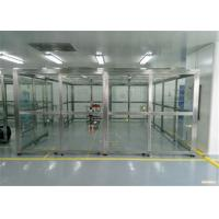 Quality SUS 304 Frame Vertical PVC Softwall Clean Room for sale