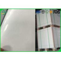 Quality Smooth 80gsm 90gsm C1s Art Paper High Glossy With Hot Melt Glue for sale
