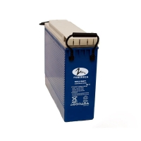 Quality Blue Color Sealed 12v 100ah Deep Cycle Solar Battery Front F14 Terminal for sale
