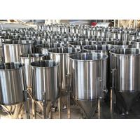 Buy 100L Custom Beer Conical Fermenter , Stainless Steel Fermentation Tanks at wholesale prices