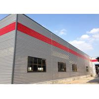 Quality High Intensity Prefabricated Workshop Buildings Customized With Color Plates for sale