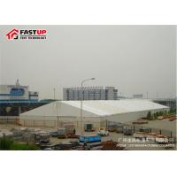 Quality Waterproof Air Conditioned Wedding Tent With Rain Gutters 15-20 Years Life Span for sale