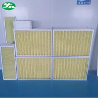 Quality Aluminum Frame Pleat Air Pre Filter for sale
