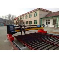 Quality Metal CNC Plasma Cutting Machine With Straight / Bevel Cutting Torch Optional for sale