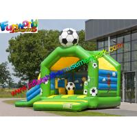 Quality FIFA World Cup Inflatable Kids Bouncer Slide , Jumping Castle for Football Fan for sale