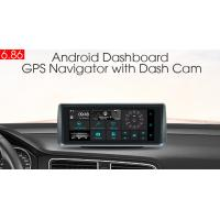 Buy cheap SD 3G In Dash Navigation GPS Tracker With FM WiFi Bluetooth Rear Camera DVR from wholesalers