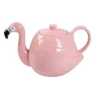 Quality White Wedding 780ml Pot Flamingo Tea Set for sale
