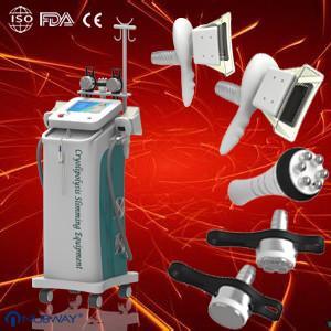 China 1800W 40K Cavitation Cryolipolysis Body Slimming Machine Equipment with Vacuum and RF on sale