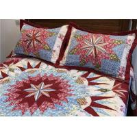 Quality Wonderful Handmade Twin Size Bedding Sets 4 Pcs 100% Cotton Geometric Design for sale