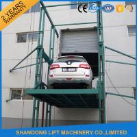 Quality 3000kgs 4 post Car Hydraulic Elevator Lift Widely for Warehouses / Factories / Garage for sale
