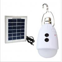 China DC / AC Power Solar LED Emergency Light for Home or Camping Lighting on sale