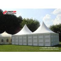 Quality Permanent Aluminium Frame Tent With Decorative Ceilings And Curtain Anti - Rust Surface for sale