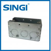 Anti corrosion metallic Electrical Junction Boxes For Electrical Wire
