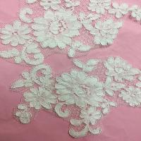 Quality Ivory Venise Cord Lace Applique for Bridal Gown Wedding Dress decor,one pair for sale