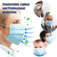 Quality Antibacterial Disposable Surgical Mask Splash Repellent For Medical Staff for sale