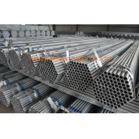 Quality BS1387 BS EN 10297 ERW Pre Galvanized Steel Pipe For Greenhouse Q195 - Q215 for sale