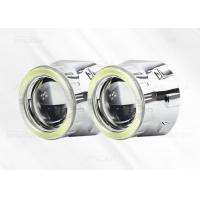 Quality Aluminum 2.5 inch COB Projection LED Headlights , H4 Motorcycle Headlight Projector Lens for sale