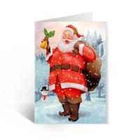 Quality Happy Birthday Lenticular Greeting Cards / Colored 3D Lenticular Card for sale