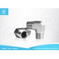 Buy cheap Carbpn Steel BSPT Male Thread Hydraulic Reducing Nipple Pipe Fitting 90 Degree Elbow from wholesalers