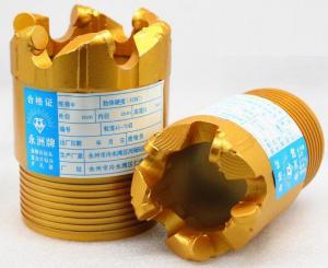 Quality Wearproof PDC Core Bit For Pebble , 75mm Diameter PDC Drill Bit for sale