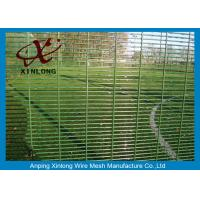Quality Anti Climbing Welded Wire Security Fencing Powder Coated Fence with High Quality for sale