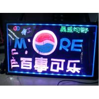 Quality LED bottle glorifier display,double stand bottle display,custom bottle acrylic led display for sale