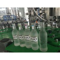 Quality Small Glass Bottle Champagne / Sparkling Wine Filling Machine , High Efficiency 3 in1 Filling Machine for sale