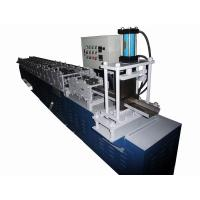 Quality 3-10 m / Min Steel Door Frame Manufacturing Machines Chain Drive System for sale