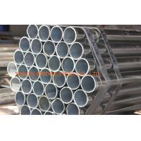 Quality Longitudinal ERW Structural Steel Pipe Schedule 80 , GI Pipes For Green House for sale