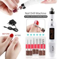 Quality Comfortable Grip Professional Nail Drill , Nail Cleaner Tool Easy Use Power 15w for sale