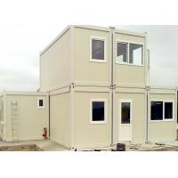 Quality Commercial Reusable Metal Shipping Containers For House - Building Project for sale