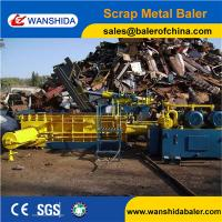 China WANSHIDA Y83-250 Waste metal baler compactor baling press machine for metal recycling yards and steel factory on sale