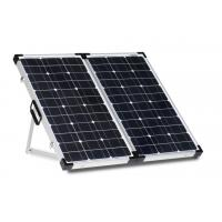 Quality White Sheet 80 Watt Solar Panel Lock And Handle Anodized Aluminum Alloy Frame for sale